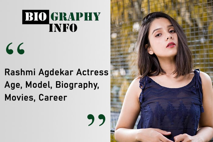 Rashmi Agdekar Actress