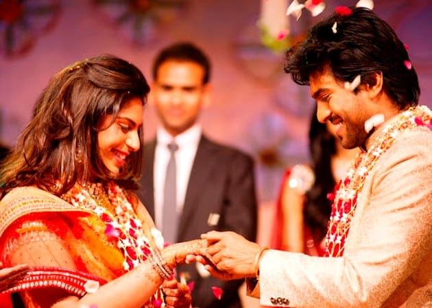 upasana kamineni Wedding Images