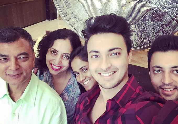 Aayush Sharma Family