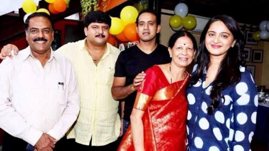 Anushka Shetty Family