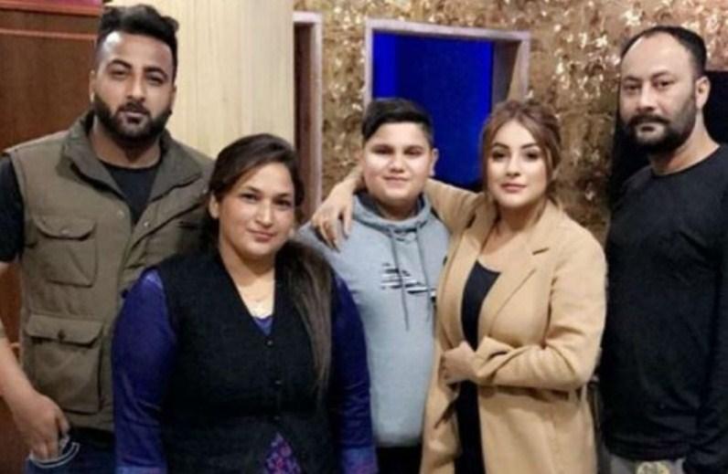 Shehnaaz Kaur Gill Family