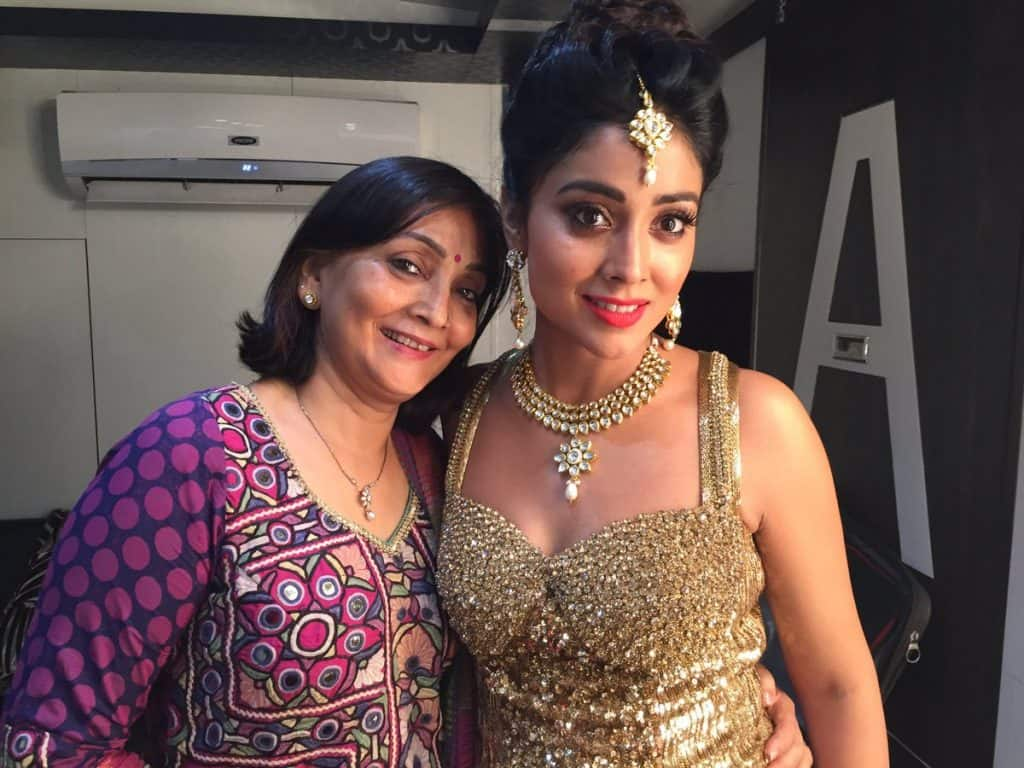 Shriya Saran Mother
