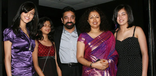 Shruti Haasan Family