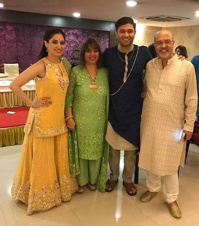 Tamannaah family