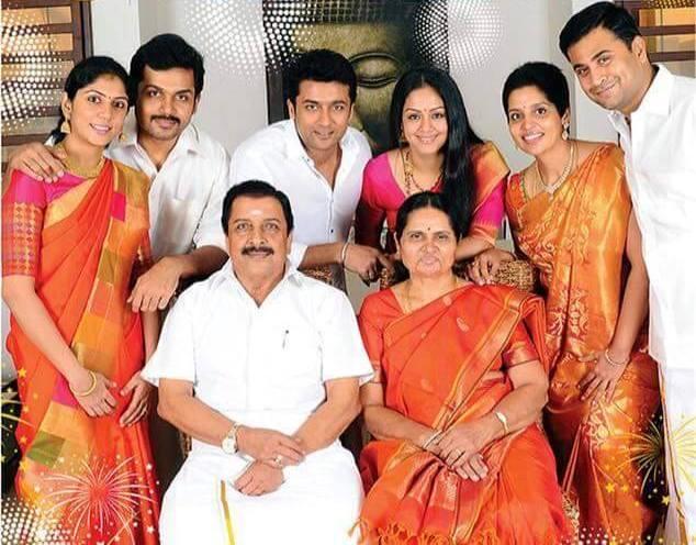 jyothika saravanan family