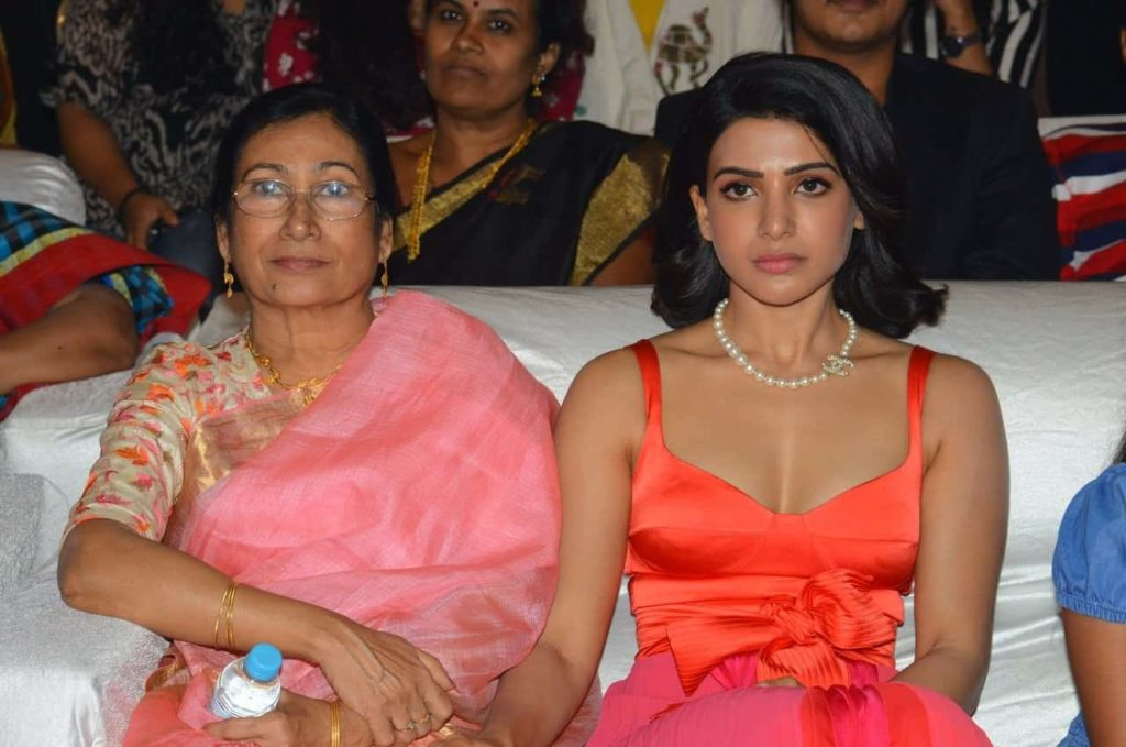 samantha akkineni mother