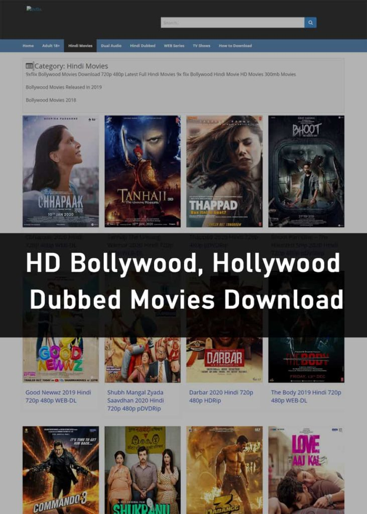 9xflix Bollywood Movies
