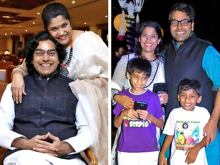 Ashutosh Rana family