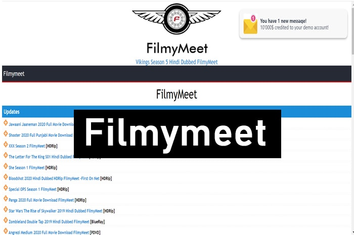 Filmymeet Website