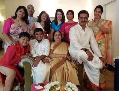 Radikaa Sarathkumar Family