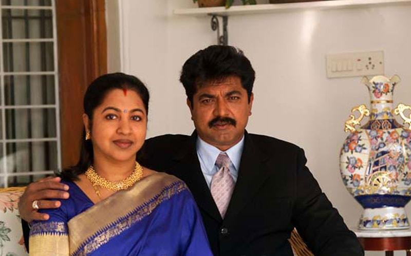 Radikaa Sarathkumar Husband