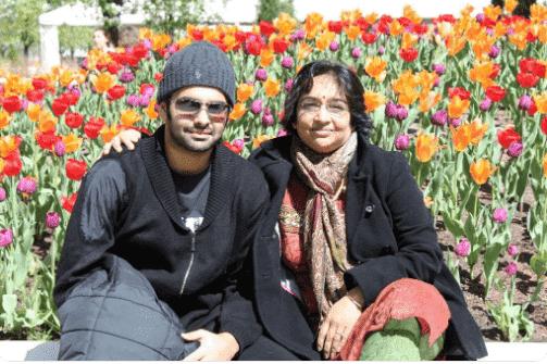 Ram Pothineni Mother