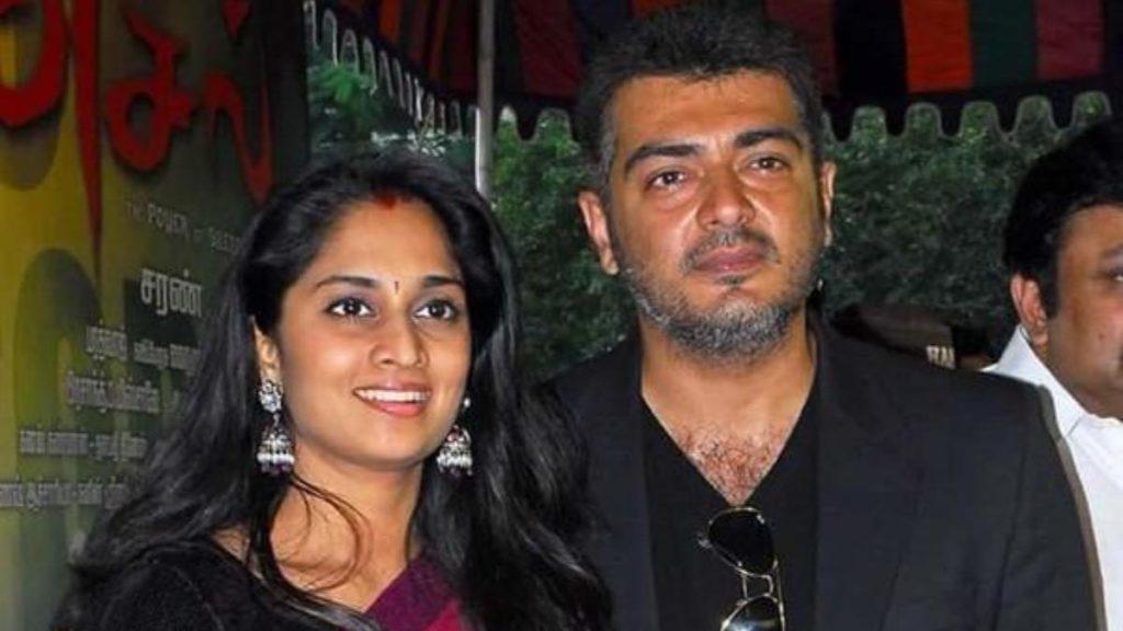 Shalini Ajith Husband