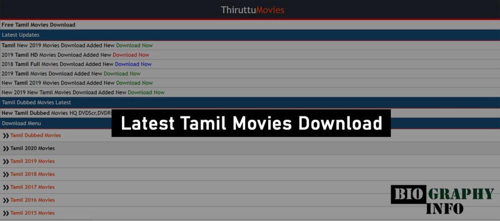 ThiruttuMovies Website
