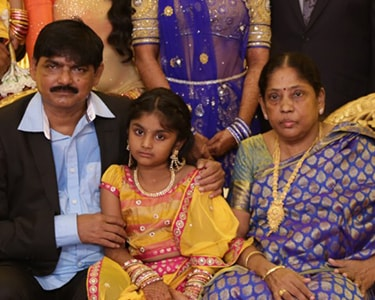 Vijayalakshmi mother and father