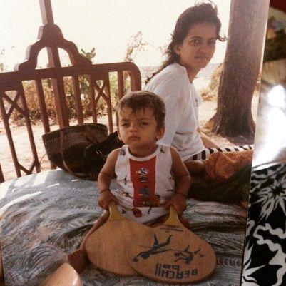 Zaheer Iqbal Mother