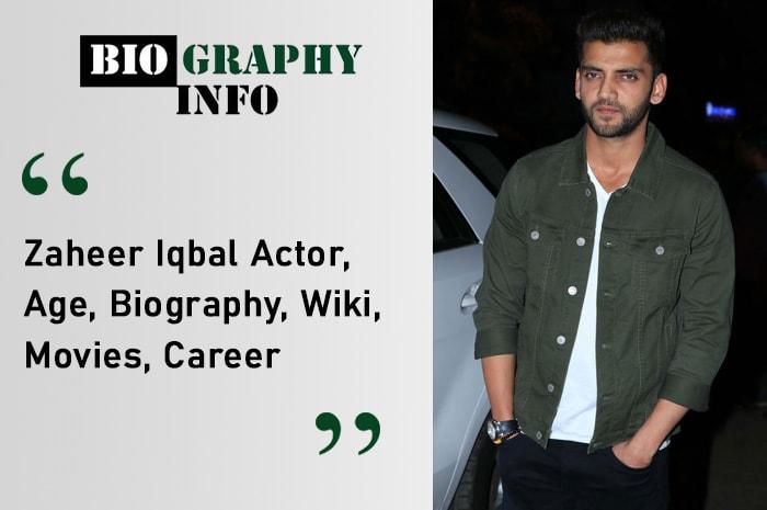Zaheer Iqbal