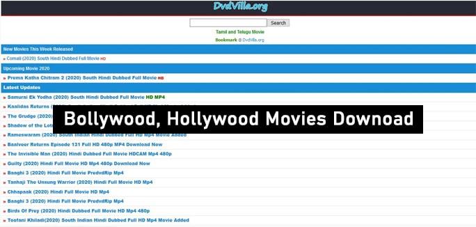 dvdvilla website