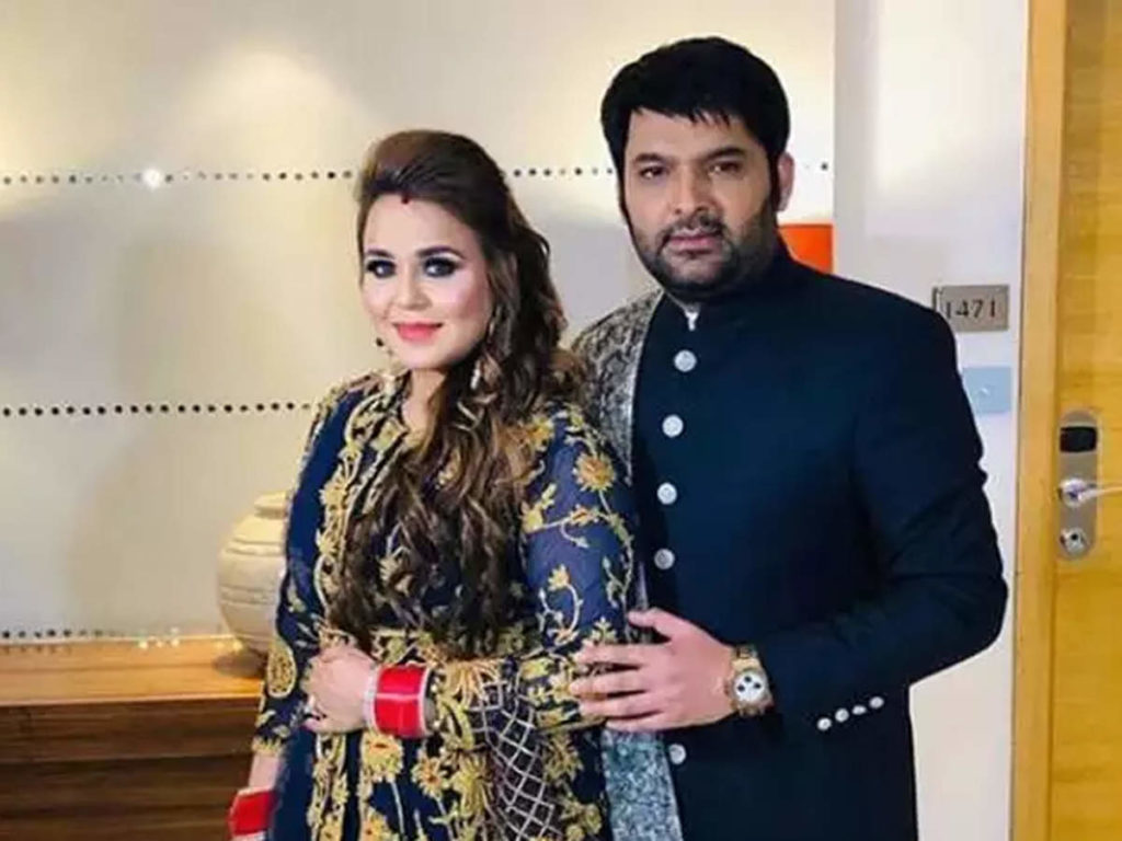 ginni chatrath with her husband kapil sharma