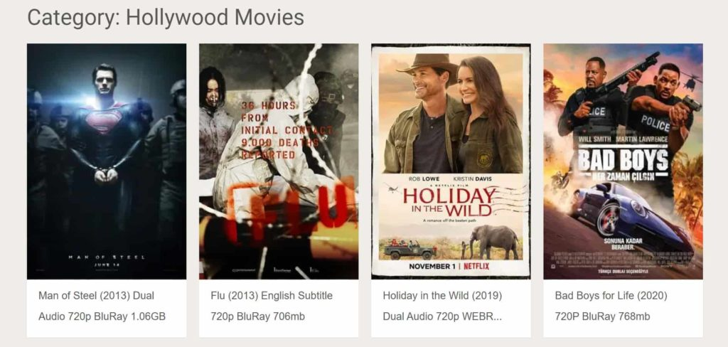 hollywood movies download