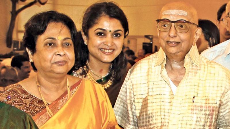 ramya krishnan mother