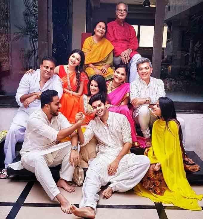 Abhimanyu Dasani Family