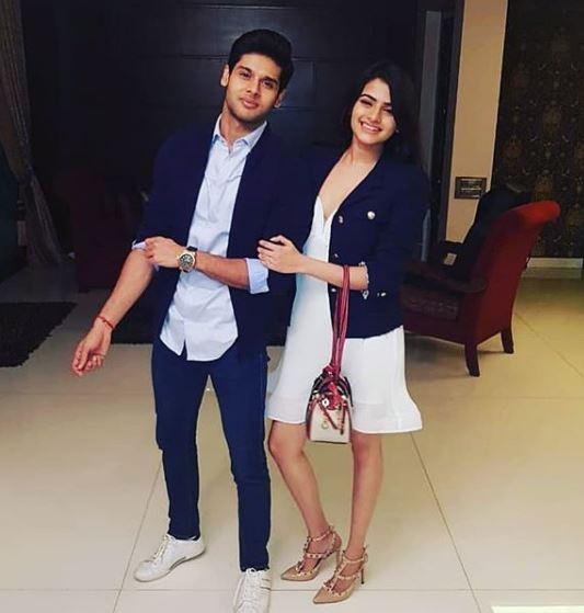 Abhimanyu Dasani With His Sister