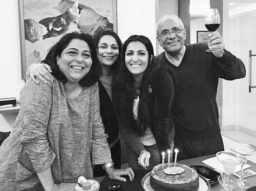 Eisha Chopra Family