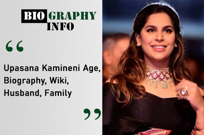 Upasana Kamineni Biography