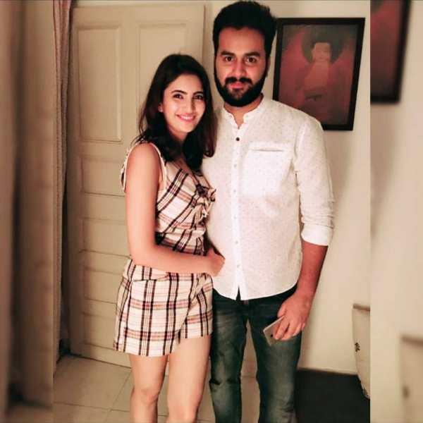 shivani raghuvanshi With Her Brother