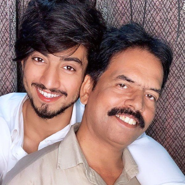 Faisal Shaikh With Her Father