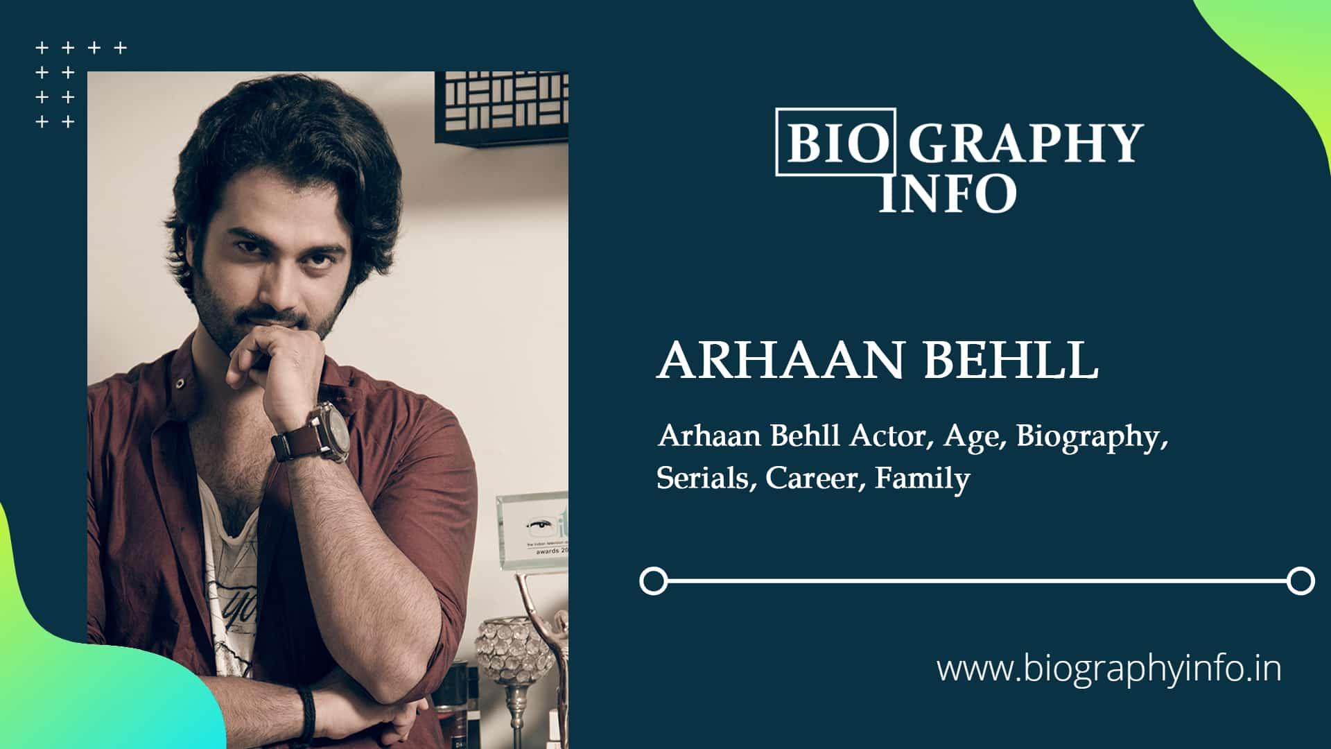 Arhaan Behll