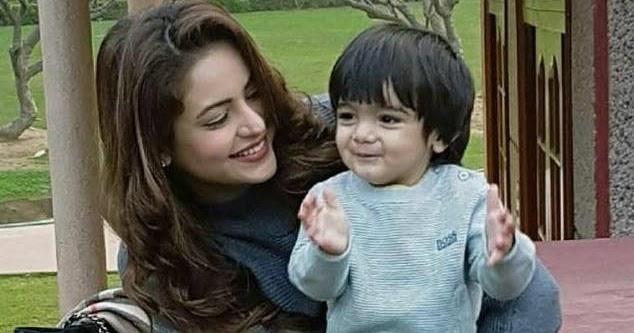 Aamna Sharif Baby