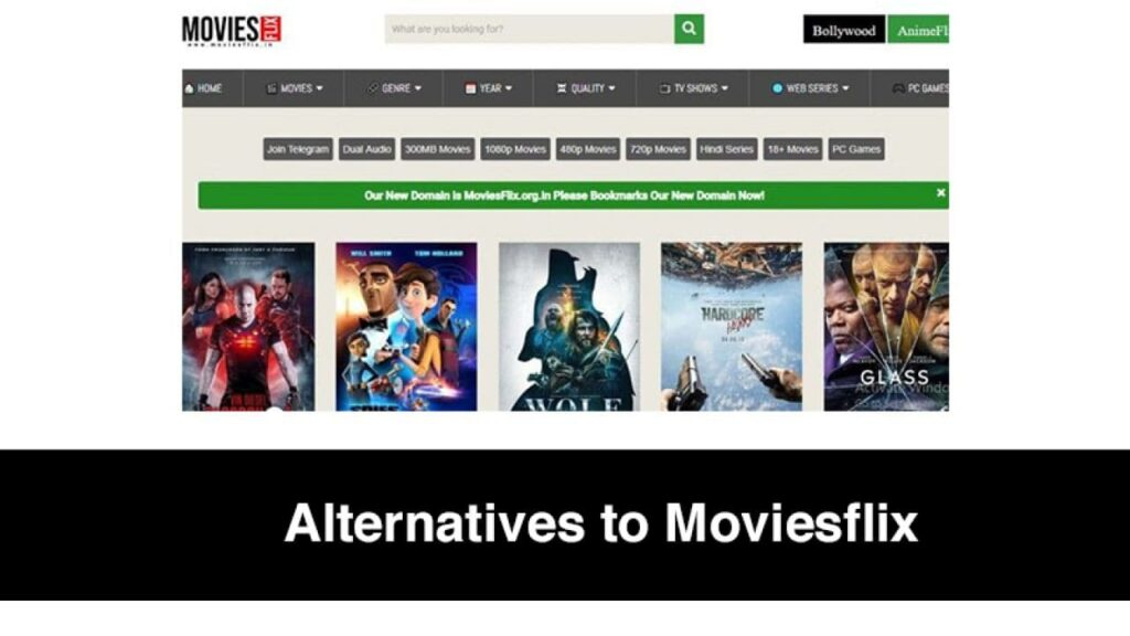 Alternatives to MoviesFlix