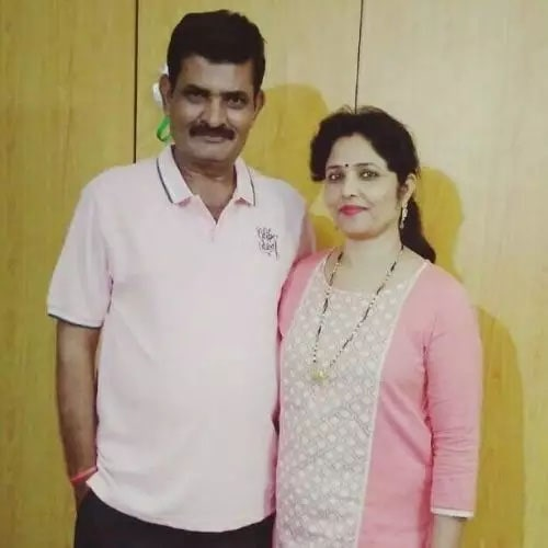 Anju Jadhav Mother and Father