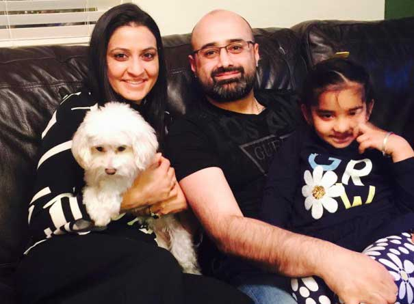 Dolly Sohi Family