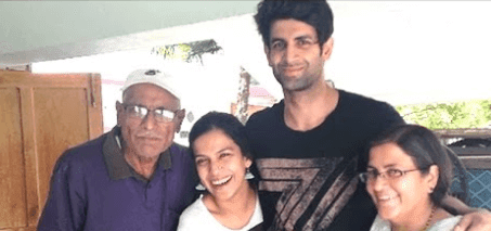 Namik Paul With Her Family
