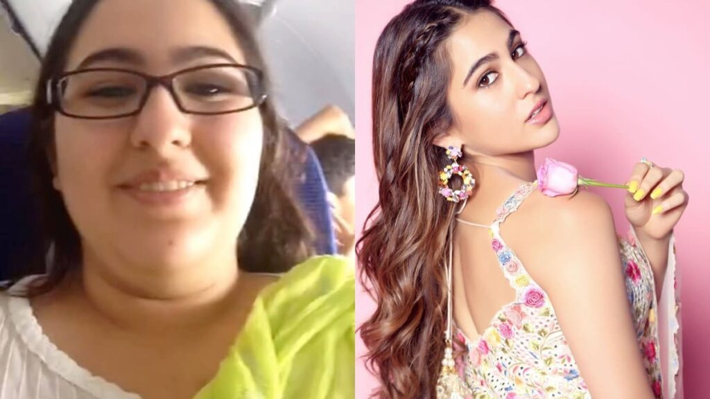 sara ali khan old images