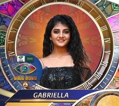 Gabriella Charlton Bigg Boss Tamil 4