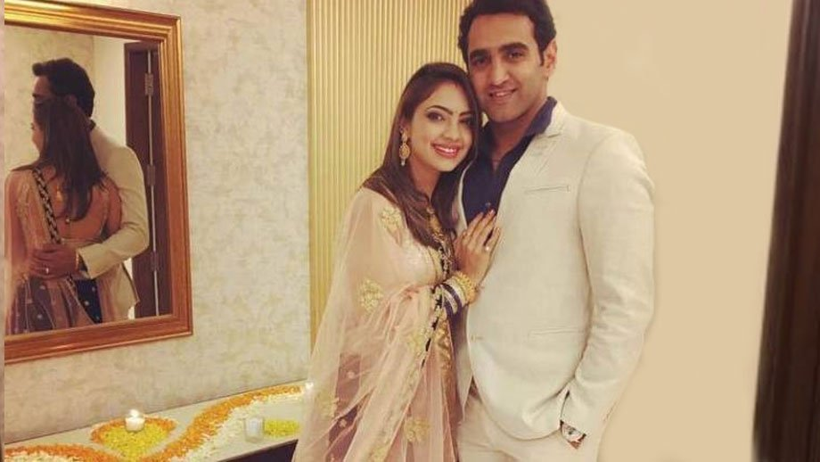 Pooja Banerjee With Her Husband