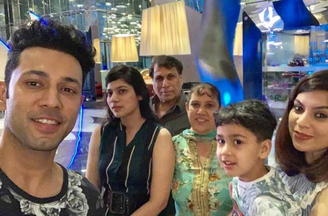 Sahil Anand With Her Family