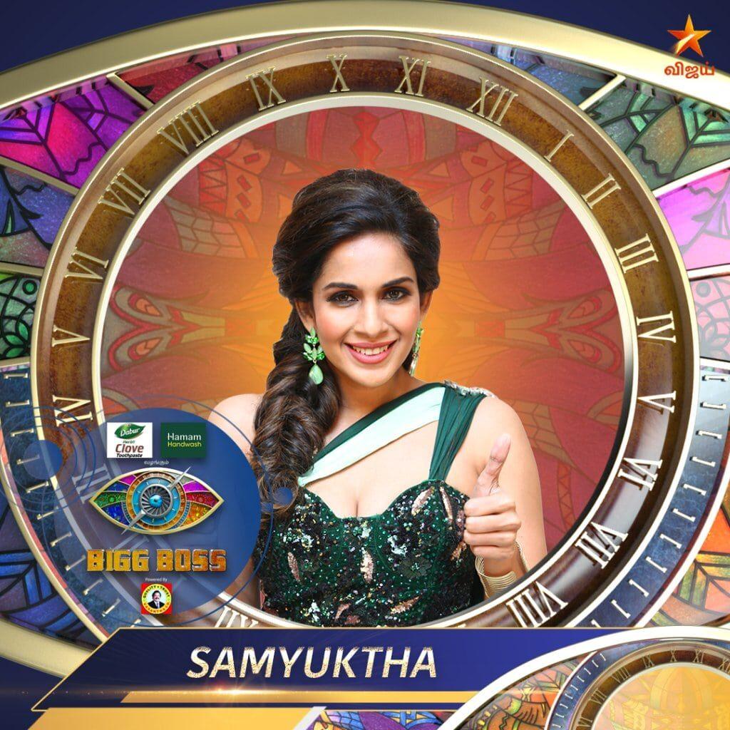 Samyuktha Karthik Bigg Boss Tamil 4