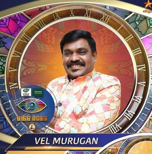 Velmurugan Bigg Boss Tamil 4