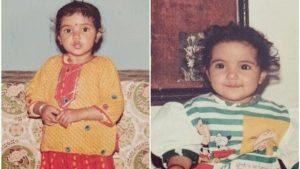 jasmin bhasin childhood picture