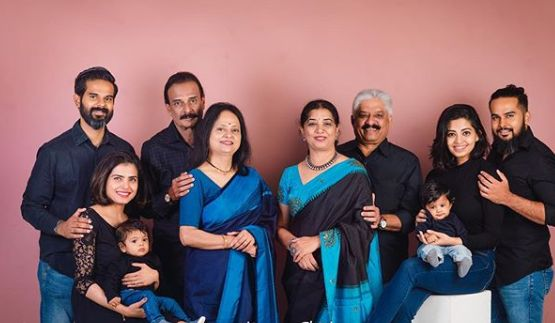 Disha Madan Family