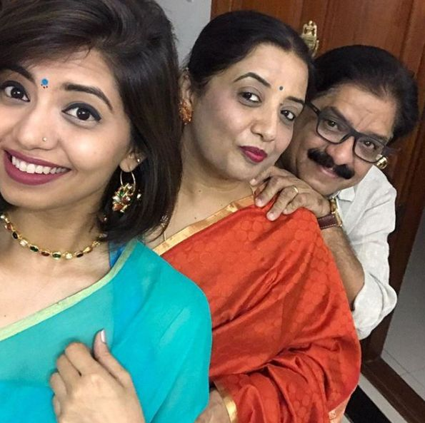 Disha Madan Mother and Father