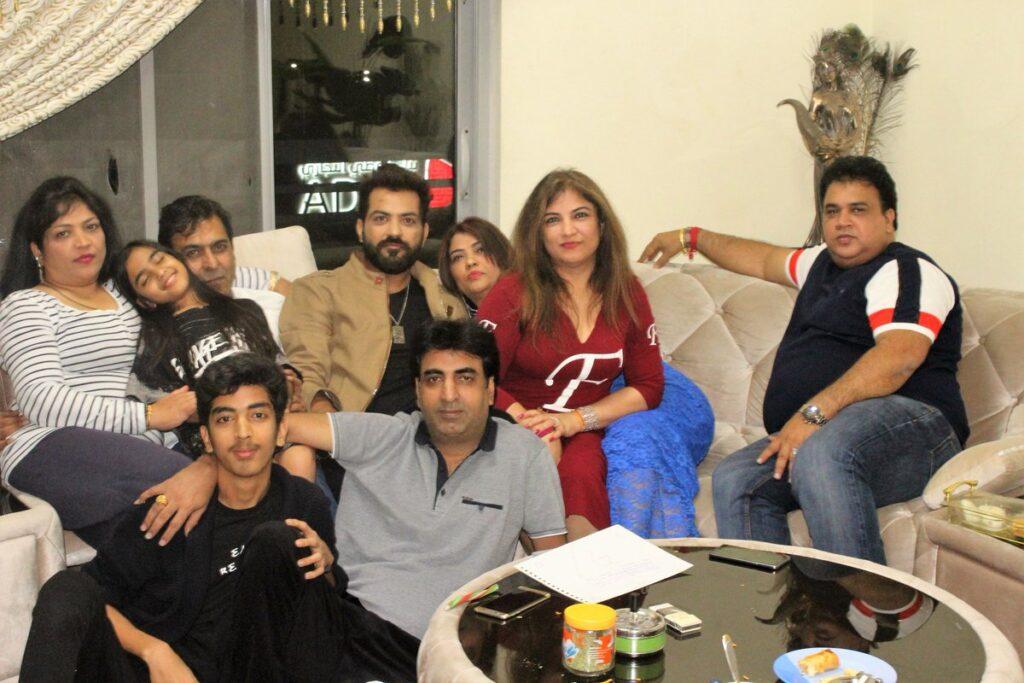 Manu Punjabi family