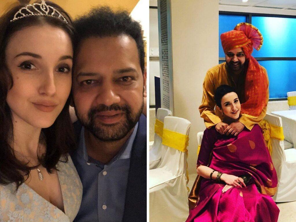 Rahul Mahajan With Her Wife
