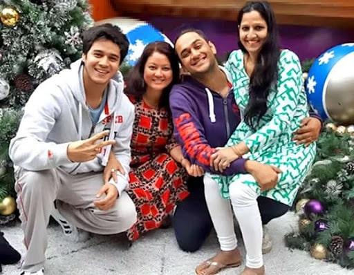 Vikas Gupta Family