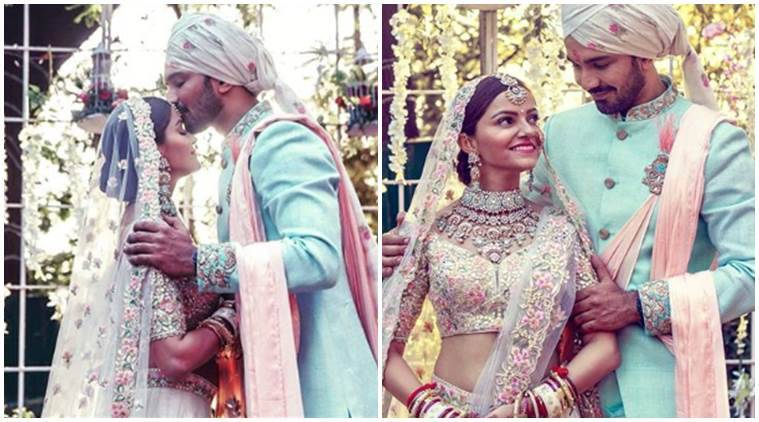 abhinav shukla wedding images